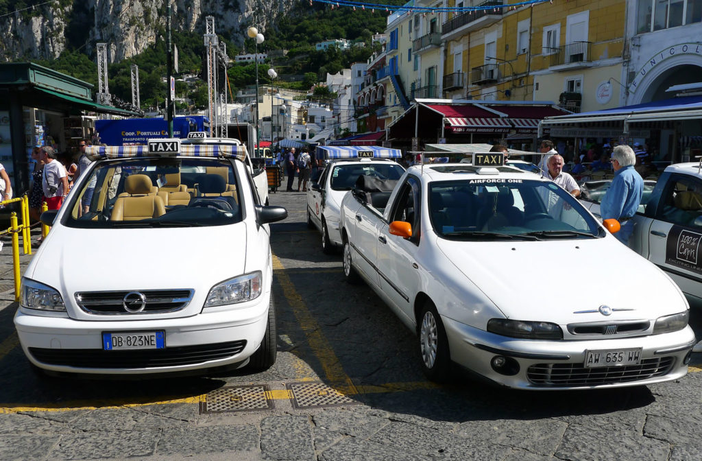 Private Tour of Capri with taxi and guide
